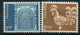1975 Svizzera, Serie Ordinaria Architettura E Lavori Artigianali , Serie Completa Nuova (**) - Switzerland