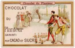Chromo Chocolat Du Planteur, Jeu De Quilles - Chocolat