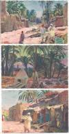 ORTEGA Alger - Lot De 7 Cartes - Paysages Africains - Sin Clasificación