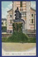03 VICHY Statue De La Charité, Entrée De L´Hôpital Civil - Colorisée - Vichy