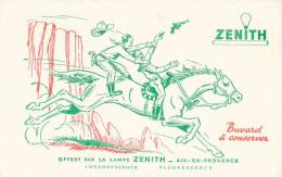 BU 970/  BUVARD      ZENITH- OFFERT PAR LA LAMPE ZENITH  -AIX EN PROVENCE - Electricité & Gaz