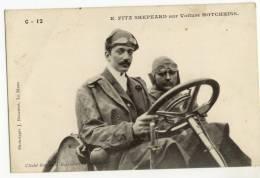 E. FITZ SHEPEARD Sur Voiture HOTCHKISS - Sportifs