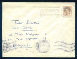 114446 / Envelope 1990  AMSERDAM POSTCODE Netherlands Nederland Pays-Bas Paesi Bassi Niederlande - Period 1980-... (Beatrix)