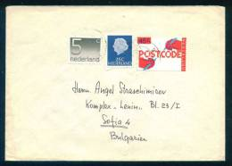 114450 / Envelope POSTCODE Netherlands Nederland Pays-Bas Paesi Bassi Niederlande - Period 1980-... (Beatrix)