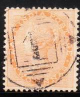 India 1865-67 Diadem Includes Maltese Crosses 2 Annas Used - India (...-1947)