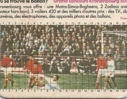 SOUS BOCK -  OU SE TROUVE LE BALLON ? GRAND CONCOURS KRONENBOURG 1974 - Sous-bocks