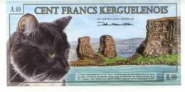 KERGELEN : 100 Frcs 2010 (unc) - Banknotes