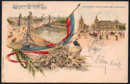 FRANCE PARIS 1900 - EXPOSITION UNIVERSELLE 1900 - LES PALAIS ET L'ESPLANADE DES INVALIDES - OLYMPIC GAMES PARIS 1900