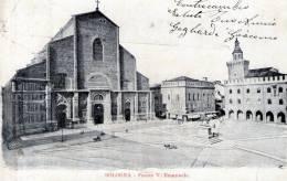 """Cartolina  D´epoca        """"  Bologna - Piazza V. Emanuele """" - Bologna"""
