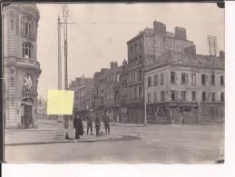 Amiens Somme  Bd Alsace Lorraine Rue De Noyon WWI Ww1 14-18 Poilus 1WK 1914-1918 - Guerra, Militari