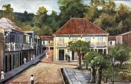 Puerto Rico, Post Office In Aguadilla, Nicht Gelaufen Um 1920, Gute Erhaltung - Puerto Rico