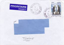 [Z2] Belle Nice Lettre France Polaire Polar Manchot Penguin South Pole Sud - Polar Philately