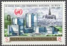 1989 Büro Der Verinten Nationen ANK 1998 / Mi 1966 / Sc 1477 / YT 1795 Postfrisch/neuf/MNH - 1945-.... 2. Republik