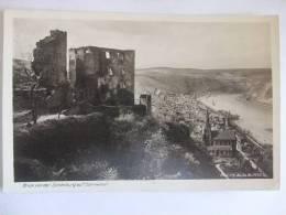 B41 AK Oberwesel - Blick Von Der Schönburg - 1934 - Oberwesel