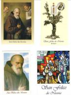 S. FELICE DA NICOSIA - LOTTO 4 SANTINI - M - Religione & Esoterismo