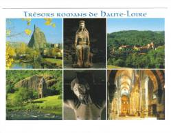 43.Trésors Romans De Haute-Loire.Aiguilhe, ND Du Cheylat, église De Blesle,d'Auzon,chapelle Ste Marie Des Chazes, Christ - France
