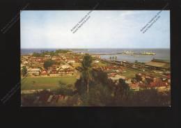 COSTA RICA : Vista De Puerto Limon  With Train Railways Station Gare Ferroviaire Bahn - Costa Rica