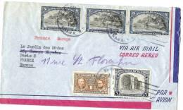 LBL11 - PANAMA LETTRE AVION PANAMA / PARIS 24/3/1957 - Panama