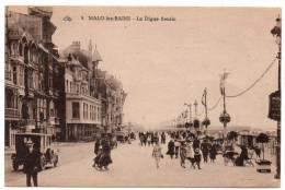 Cpa 59 - Malo Les Bains - La Digue Fleurie - Malo Les Bains