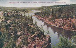 Wisconsin Sainte Croix Falls General View Dalles Of The Sainte C