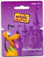 Walt Disney World, Orlando, Florida, U.S.A.  Ticket # Dtw-18 - Disney-Pässe