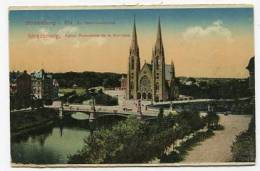 FRANCE - AK128534 Strassburg I. Els. - Ev. Garnisonskirche - Strasbourg