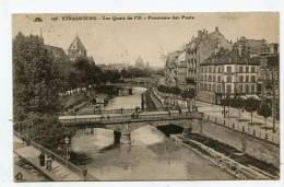 FRANCE - AK128539 Strasbourg - Les Quais De I'III - Panorama Des Ponts - Strasbourg