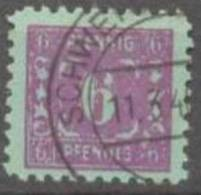 Mecklenburg 1945 Freimarken 6 Pf Mi 10x / Sc 12N3 / YT 4 Gepr. / Signed Gestempelt/used/oblitere - Zone Soviétique