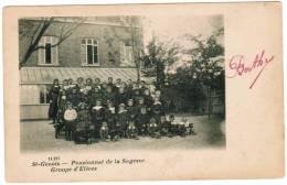 St Denys, St Genois, Pensionnat De La Sagesse, Groupe D'Elèves (pk5815) - Zwevegem