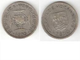 *mozambique 2,5 Escudo  1935 Km 61 - Mozambique