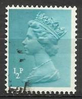 Gran Bretagna - Queen Elizabeth II - 1972 - SG X843 - 1 Side Band At Left - Used/usato - 1952-.... (Elisabetta II)