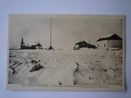 AUX  GLACES  POLAIRES  :  En Hiver , La Mission De ST Joseph , Au Fort Résolution. - TAAF : Terres Australes Antarctiques Françaises