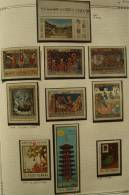 Paintings P-R Romania MNH**,1969-1971 12 Different Complete Issues & Souvenir Sheets - 1948-.... Republics