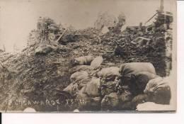 Bellwarde  Flandres Flandern  Belgique Tranchées Village Carte Photo WWI 1wk 14-18 Poilus 1914-1918 Ww1 - Guerra, Militares