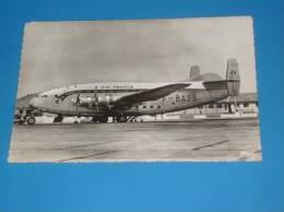 "CPSM Aviation Appareil BREGUET Deux Ponts ""Provence"" AIR FRANCE Gros Plan - 1946-....: Ere Moderne"