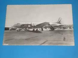 CPSM Aeroport De MARIGNANE Appareil DC 4 Lorraine AIR FRANCE  Gros Plan - 1946-....: Ere Moderne