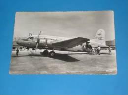CPSM Aeroport De MARIGNANE Appareil Viking De La Centrale African Airways  Gros Plan - 1946-....: Ere Moderne