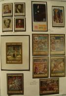 Paintings P-R Romania MNH**,1971-1975 9 ALBUM PAGES All Complete Sets & S/S - 1948-.... Republics