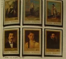 Paintings P-R Romania MNH**,1979 Complete Set, TATTARESCU - 1948-.... Republics