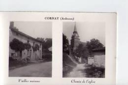 ARDENNES - Cornay - Vieilles Maisons - Chemin De L'église - Non Classés