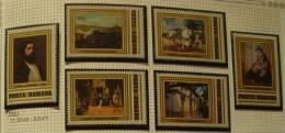 Paintings P-R Romania MNH**,1981 Complete Set Mi 3810-3815 Aman Issues - 1948-.... Republics