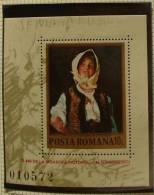 Paintings P-R Romania MNH**,1982 S/S Souvenir Sheet GRIGORESCU - 1948-.... Republics