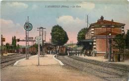 L'ARBRESLE LA GARE TRAIN LOCOMOTIVE 69 RHONE - L'Arbresle