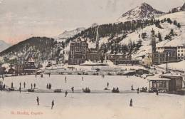 ST. MORITZ - SUISSE SCHWEIZ SVIZZERA- VG 1915 BELLA FOTO D´EPOCA ORIGINALE 100% - Altri