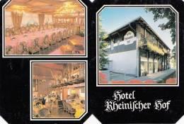 VP - B499.36 - Carte Publicitaire Format CPM GF- Allemagne - Hotel Rheinischer  Hof Ginsheim (2 Scans) - Cartoncini Da Visita