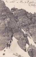 CPA PHOTO  05 En Montant Au Pic De Rochebrunne   Chasseurs Alpins - Zonder Classificatie