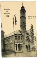 Exposition De Bruxelles 1910, Pavillon De La Ville De Gand (pk5857) - Fêtes, événements