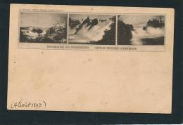 SUISSE - Der Rheinfall Bei SCHAFFHAUSEN (1897) - Non Classés