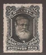 Brésil 1878 Dom Pedro - 200r Oblitéré Superbe - Sc#73 Cote 17.5$ - Non Classés