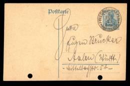 Postkarte 30pf,  Feb. 1921 Friedrichshaffen Am Bodensee - Sternchen-stempel Ohne Sternchen - Briefe U. Dokumente
